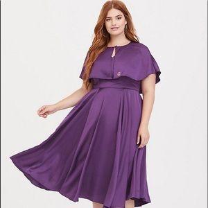 Fantastic Beasts purple dress